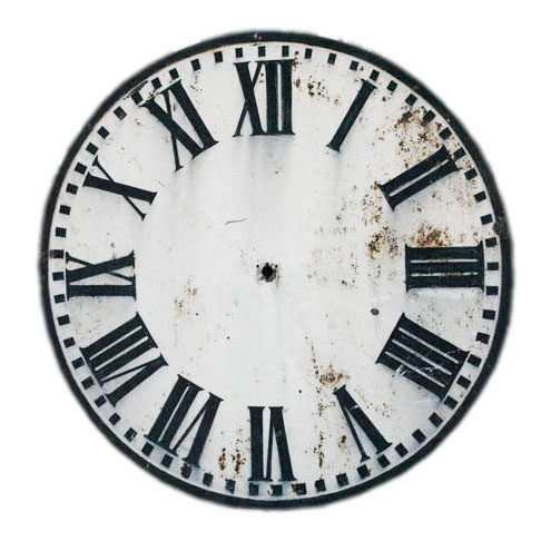 Old Clock Face Roman Numerals Images & Pictures - Becuo